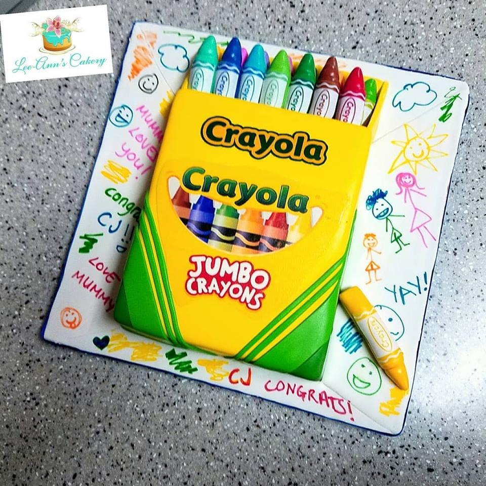 Pre School Grad Cake