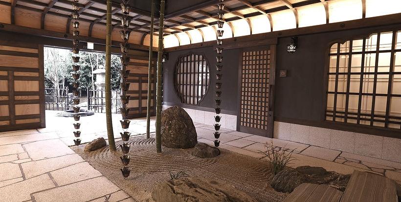 京都 ホテルデザイン 庭 サンライズスイーツ