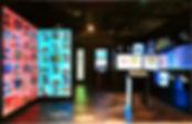サッカーショップ e-sports  ソーシャルディスタンス デジタル 店舗デザイン