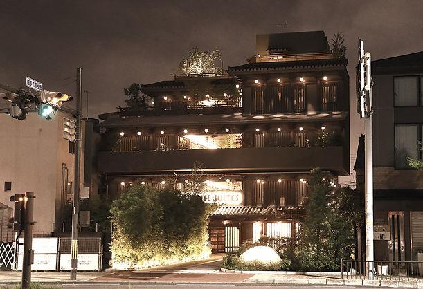 ホテルデザイン 宮大工 庭 京都 設計