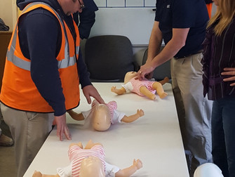 JML Teams Get CPR Certified