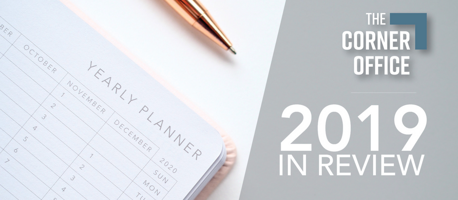 Year In Review at The Corner Office