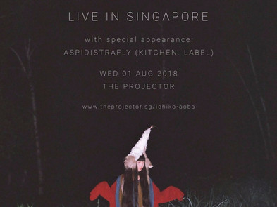 【Live】2018.8.1(水)「ICHIKO AOBA LIVE in Singapor」@The Projector