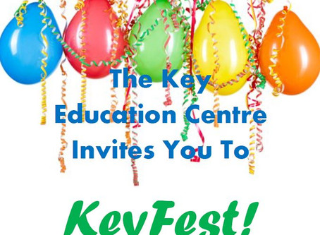 You Are Invited To Our Key Fest - 24 May 2019