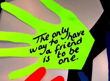 Anti-Bullying Week 2017: Our Friendship Tree Has Grown