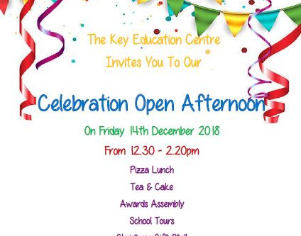 You're Invited To Our Open Afternoon!
