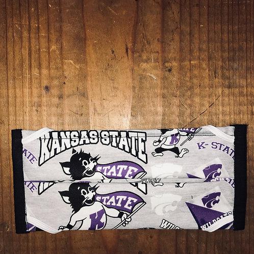 K-State Willie Mask - Gray