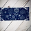 Thumbnail: Blue Snowflakes Mask