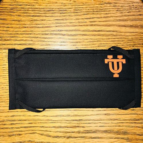 Black University of Texas Mask