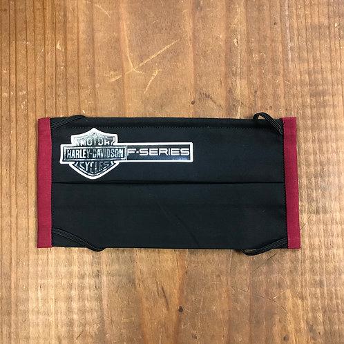 Harley Davidson Mask - Black & Burgundy