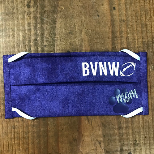 BVNW Football Mom Purple