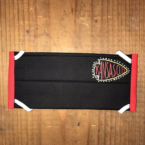 KC Chiefs - Black Ultimate Bling