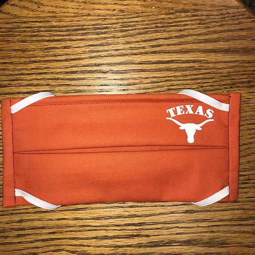 Orange University of Texas Mask
