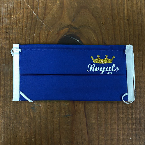 Royals - Blue with Glitter Crown