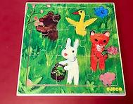 Puzzle de 9 pièces sur le thème des animaux