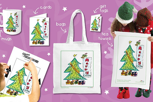 HTL Christmas products... Cards/Mugs- RUDOLPH CARDS!