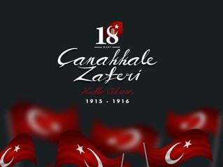 """""""Çanakkale Zaferi, vatan topraklarını korumak için şahlanan Türk ordusunun en muhteşem  zaferid"""