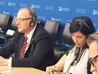 Koçer OECD Toplantısına Katıldı