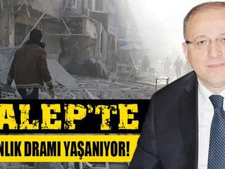 Halep'te İnsanlık Ölmesin