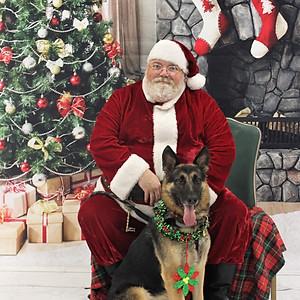 Santa @ Bag pf Bones Barkery
