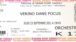 """Rétrospective : Lancement de notre partenariat avec JMD Production avec """"FOCUS"""" de Verino"""