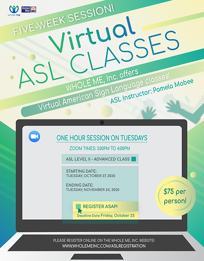 Virtual ASL Classes