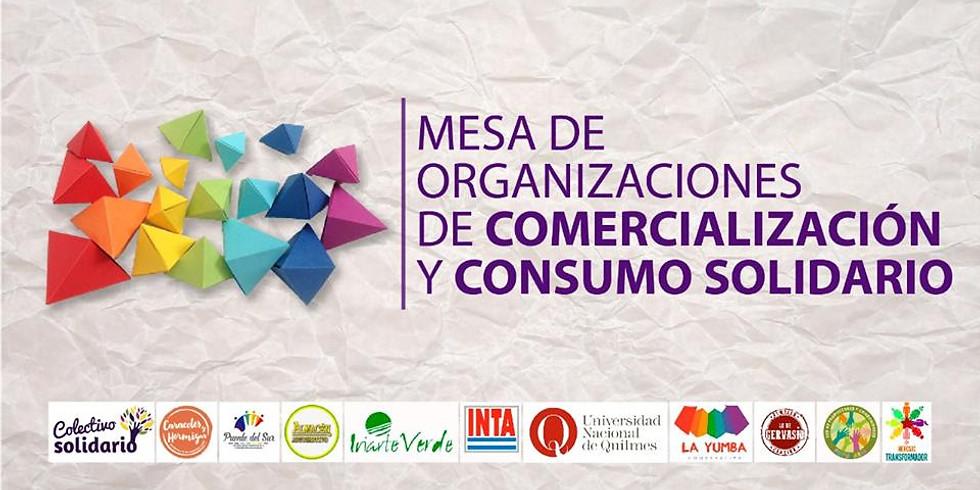LANZAMIENTO DE LA MESA DE ORGANIZACIONES DE COMERCIALIZACIÓN Y CONSUMO SOLIDARIO