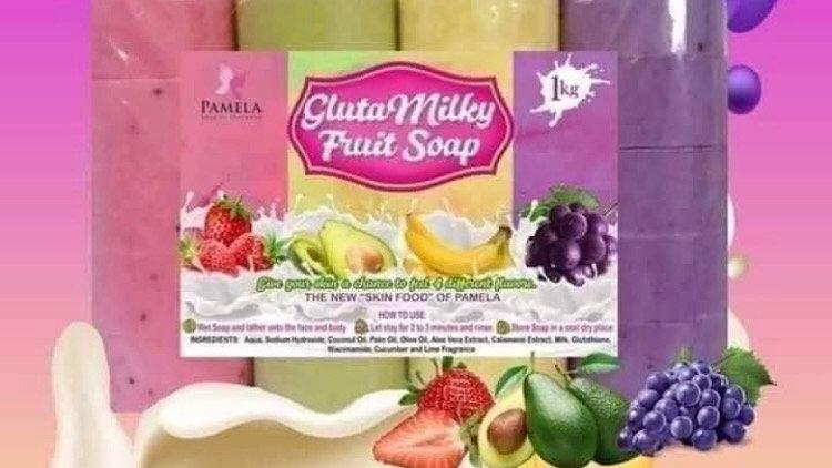 GlutaMilky Fruit Soap
