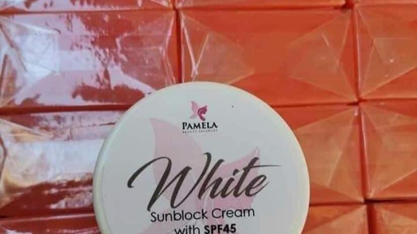 Pamela White Sunblock