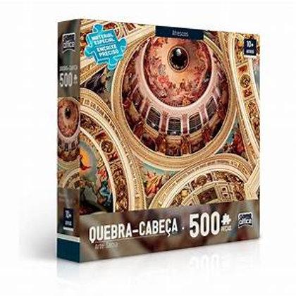 Quebra Cabeça Arte Sacra Afrescos 500 Peças