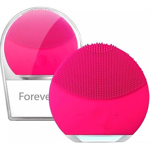 Esponja Elétrica Forever Para Limpeza de pele Facial Massageadora de Silicone