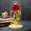 Thumbnail: Enfeite Luminoso Flor Bella e a Fera 21 cm Altura