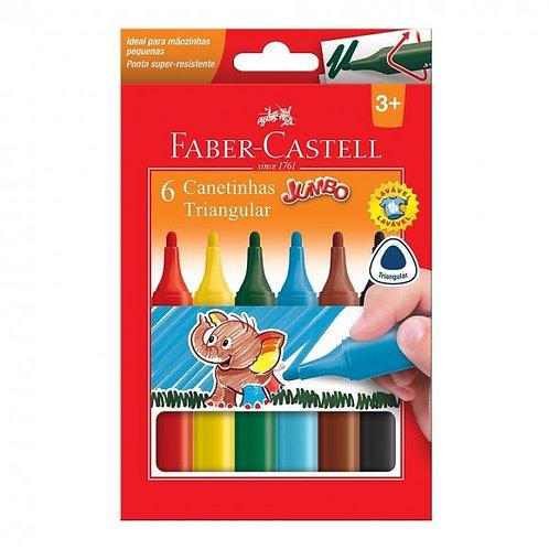 Canetinha Jumbo Triangular Faber-Castell