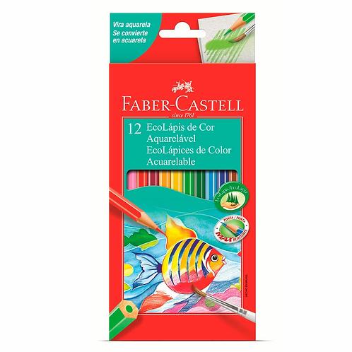 Lápis De Cor Aquarelável Faber-Castell