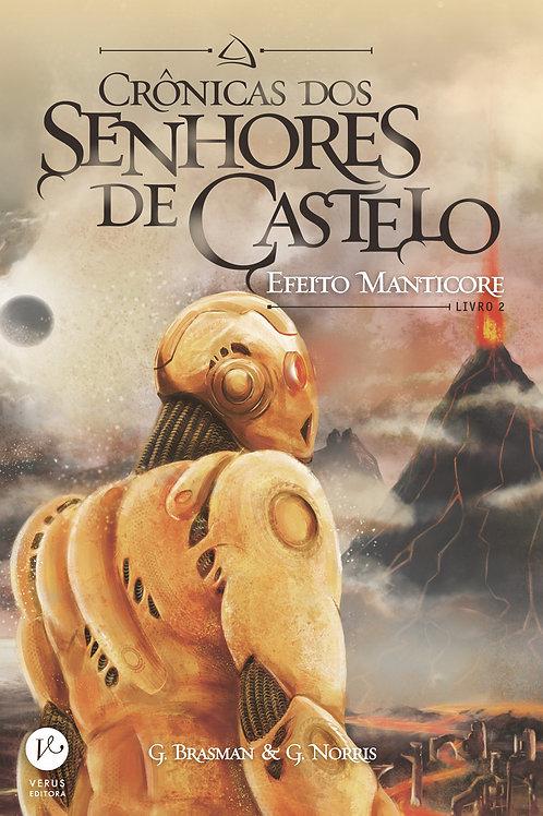 Livro Crônicas Dos Senhores De Castelo - Livro 2