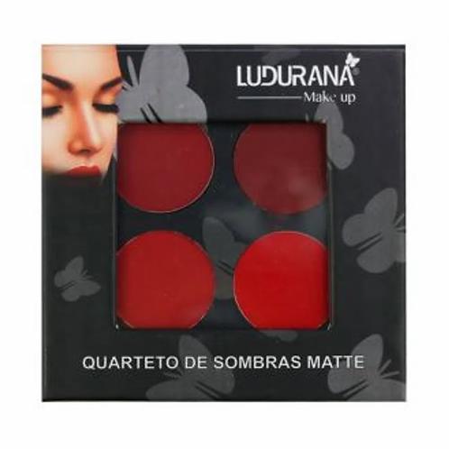Quarteto De Sombras Matte Ludurana
