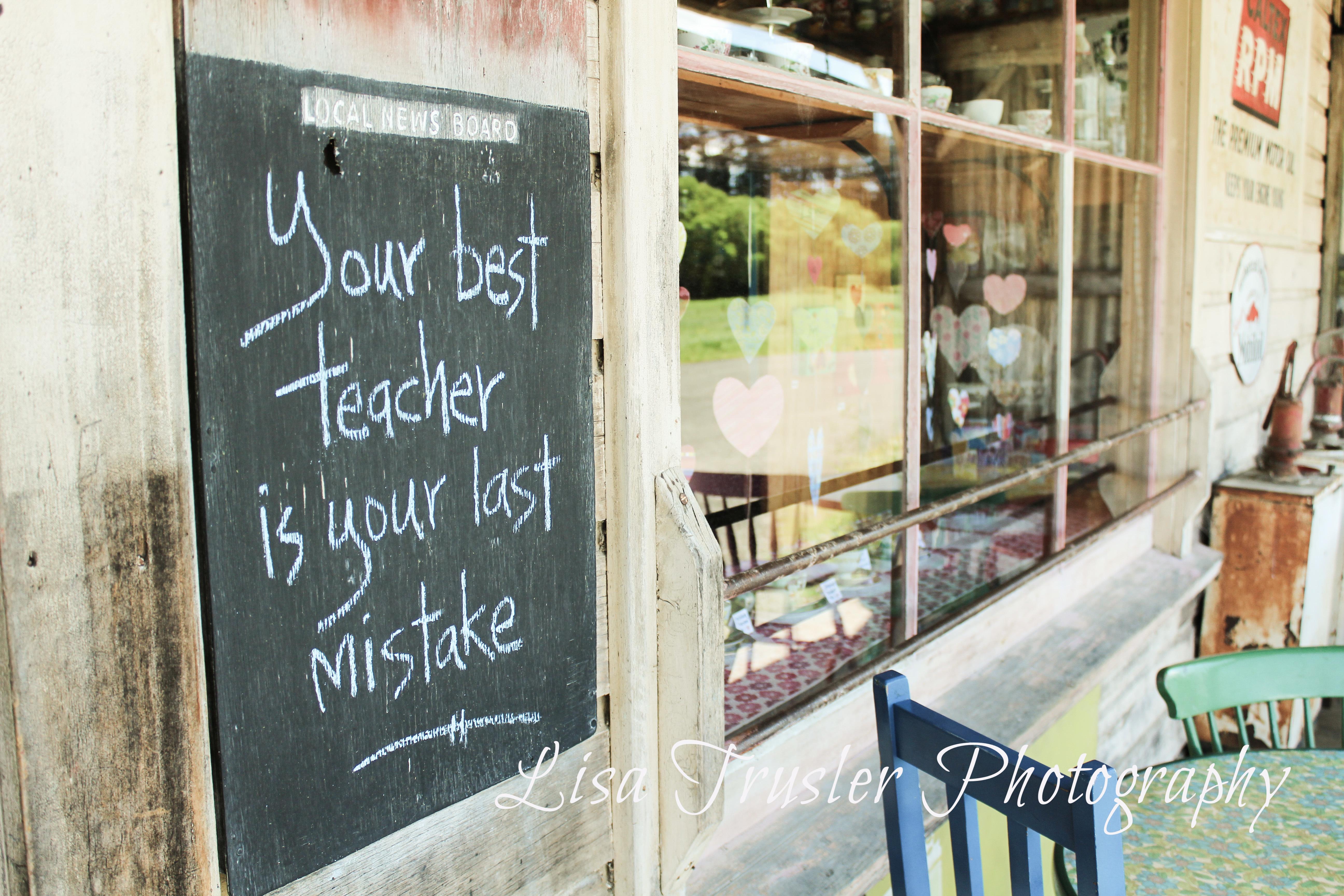 'Best teacher'