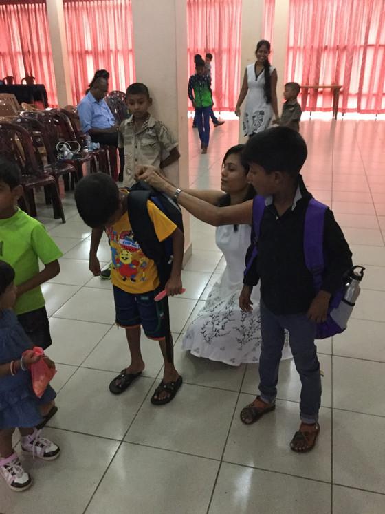 Pipeana Kakulu School Material Distribution