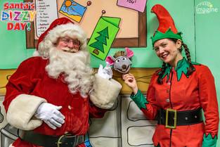 Santa comes to the rescue at the Belgrade