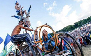 Cirque Bijou takes Godiva fest to new heights