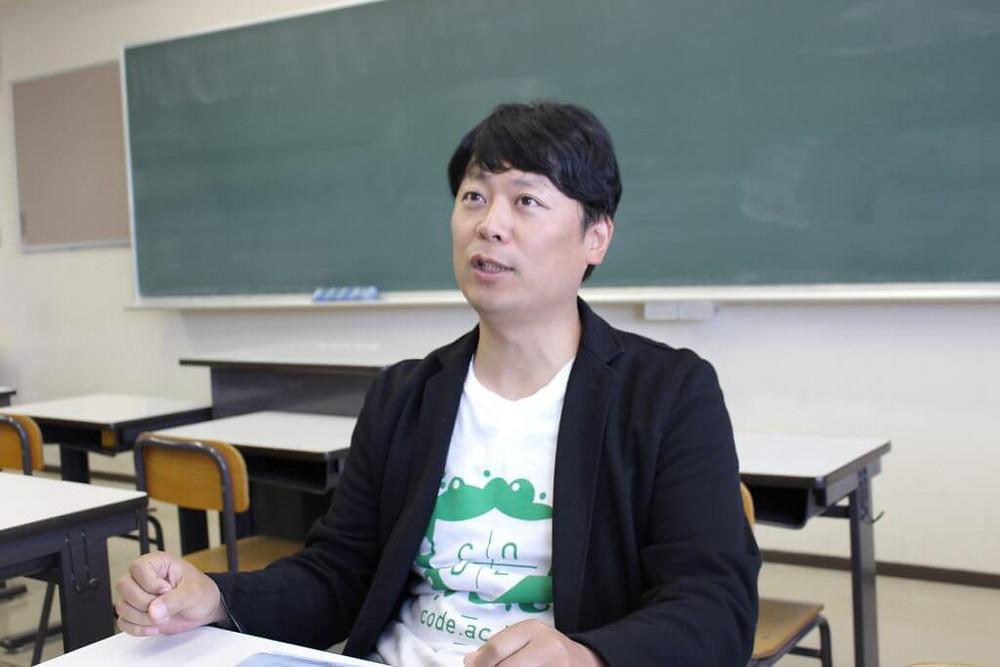コードアカデミー高等学校 広報部長兼次世代教育開発部長インタビュー