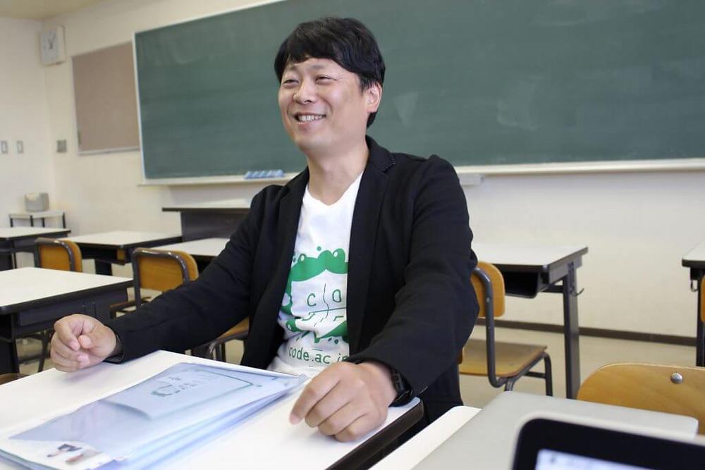コードアカデミー高等学校 栗林聖樹さん