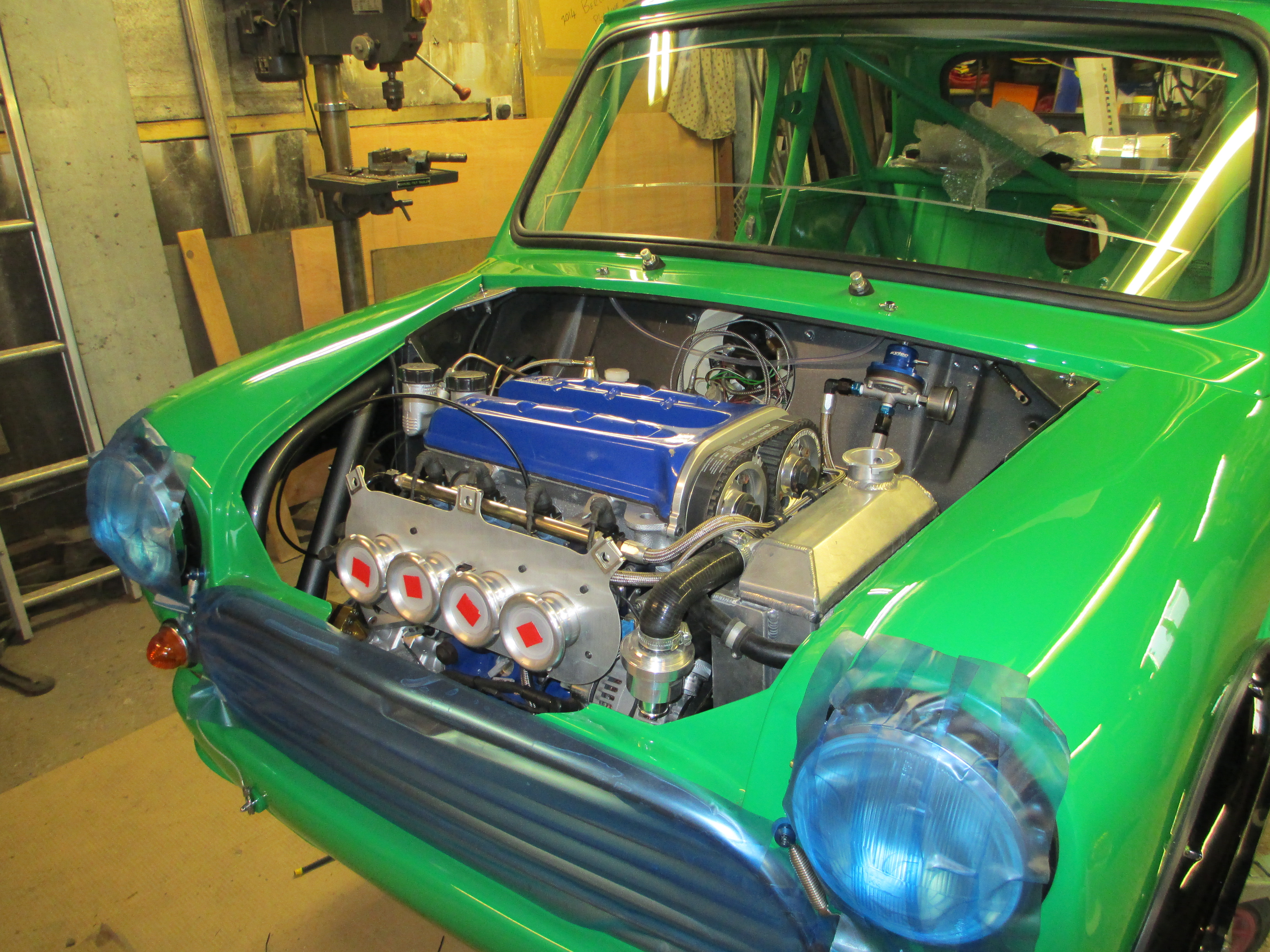 Kevin S's beast's engine