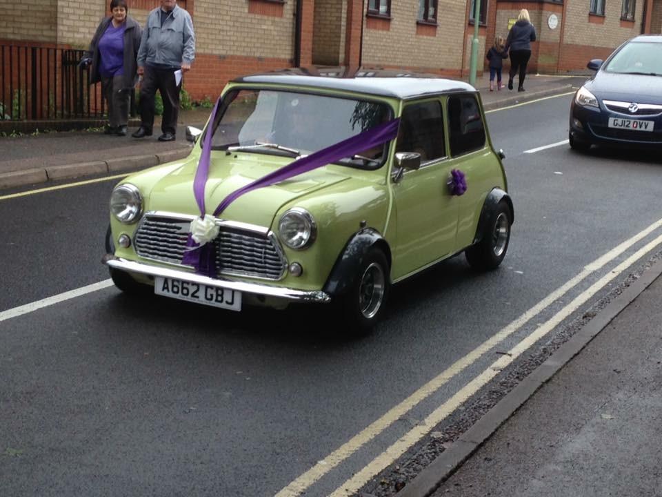 Dan's wedding car!