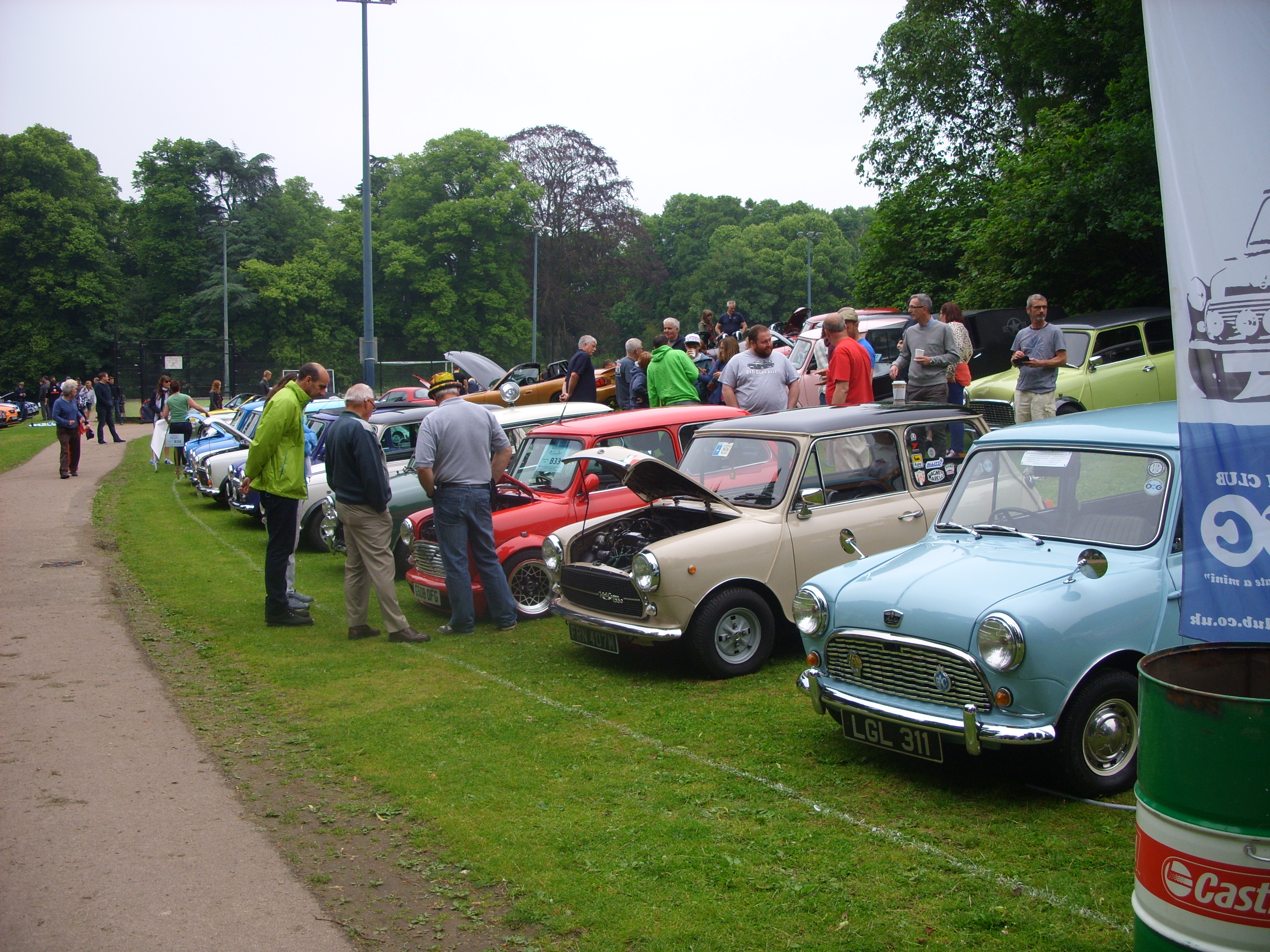 Cars on the green 2016