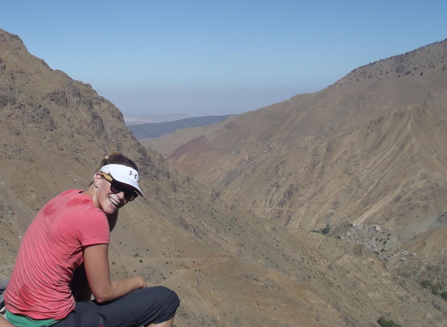 Jantine in Morocco