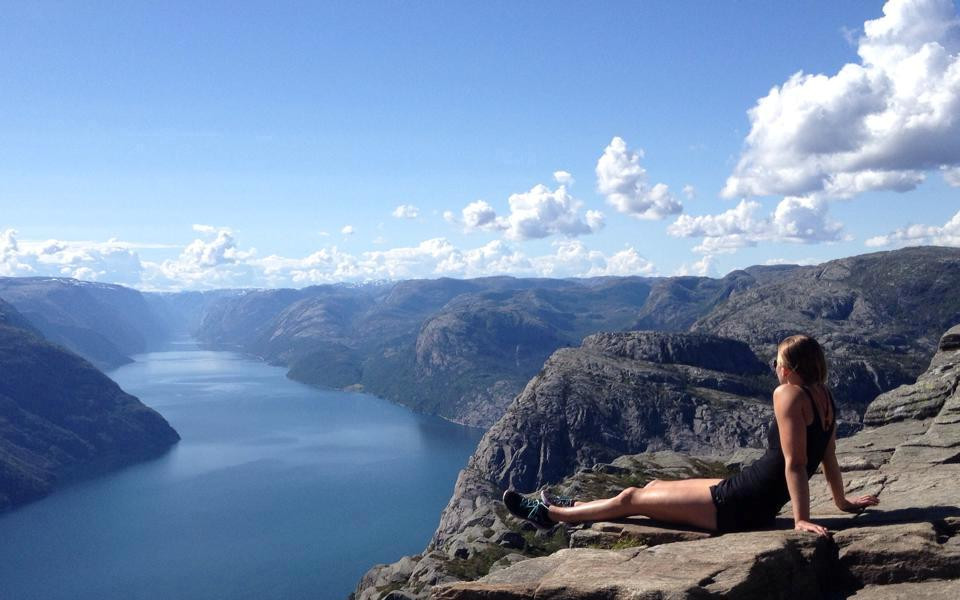 Jantine in Norway