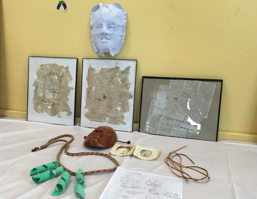 The class's work was made public through an open studio event in which participants shared their work-in-progress at the Center; and a final exhibition in June, where participants shared independent projects they produced.
