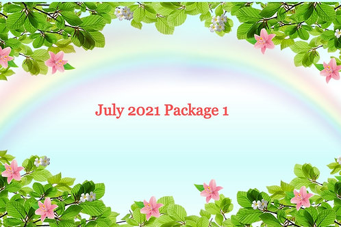 July 2021 Package 1