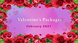 Valentine's Packages 2021